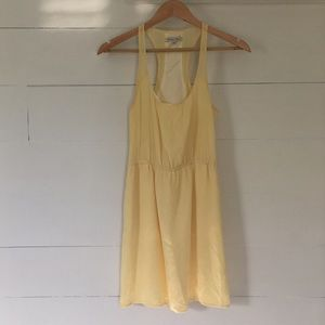 Madewell - yellow sun dress